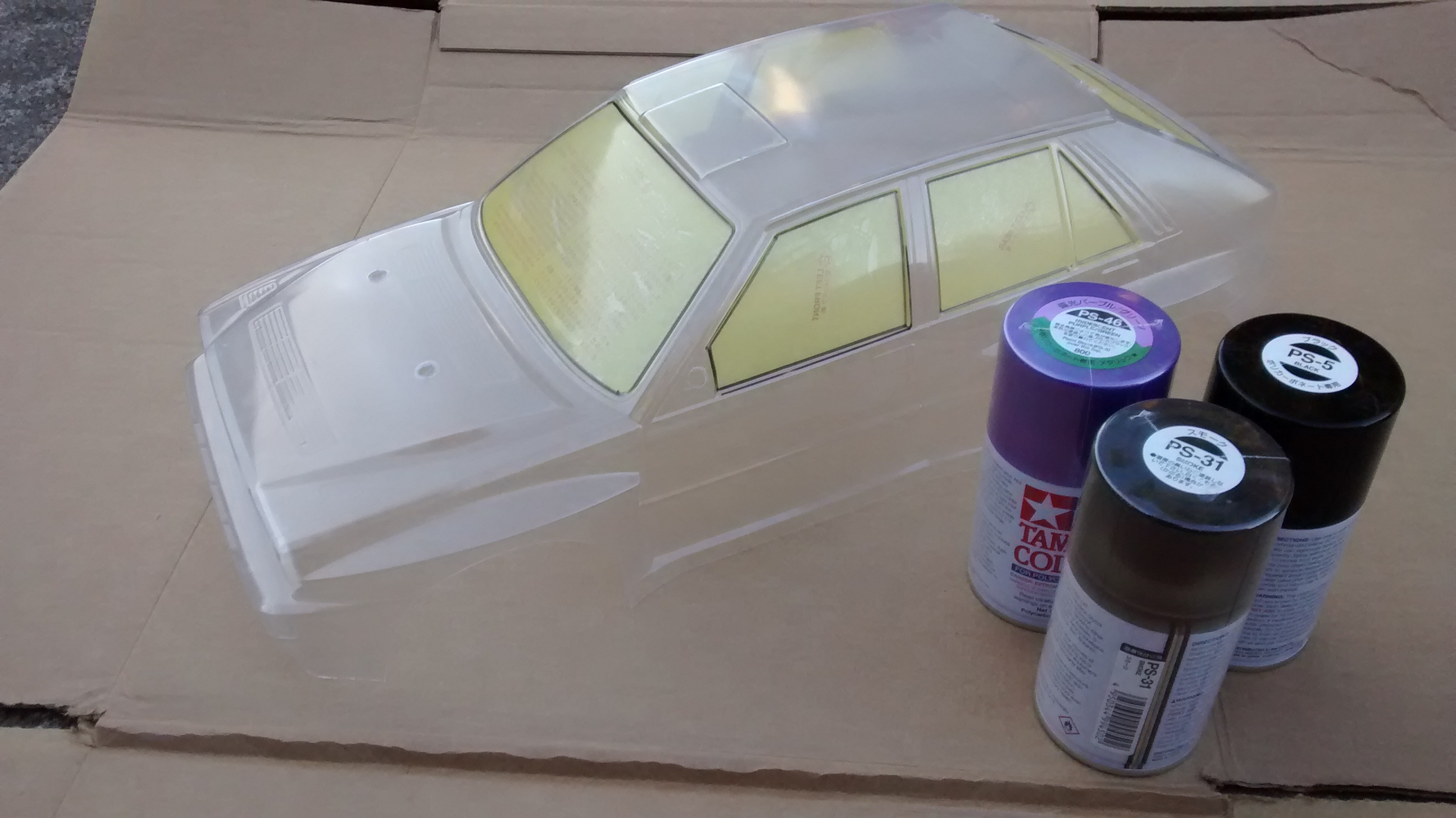 Painting New Rc Car Bodies Quick And Dirty Rcs